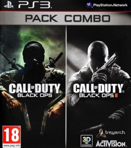 Pack Combo Call of Duty : Black Ops + Call of Duty : Black Ops II