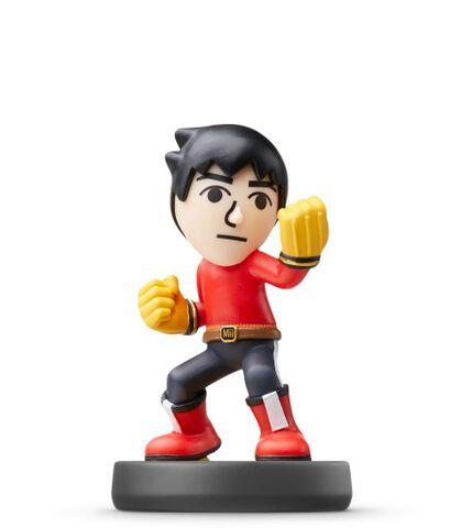 Figurine Amiibo N°48 Smash Boxeur Mii