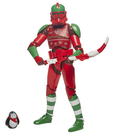 Figurine The Black Series - Star Wars - Holiday Strom Trooper Noel