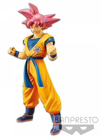 Figurine - Dragon Ball Super - Cyokoku Buyuden Super Saiyan God Sangoku