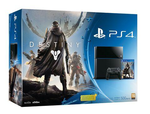 Pack PS4 Noire + Destiny