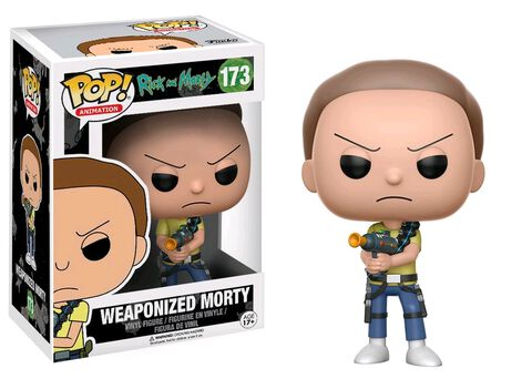 Figurine Funko Pop! N°173 - Rick et Morty - Weaponized Morty