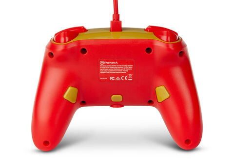 Manette Filaire Switch Golden Mario