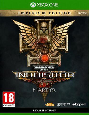 Warhammer 40.000 Inquisitor Martyr Imperium Steelbook