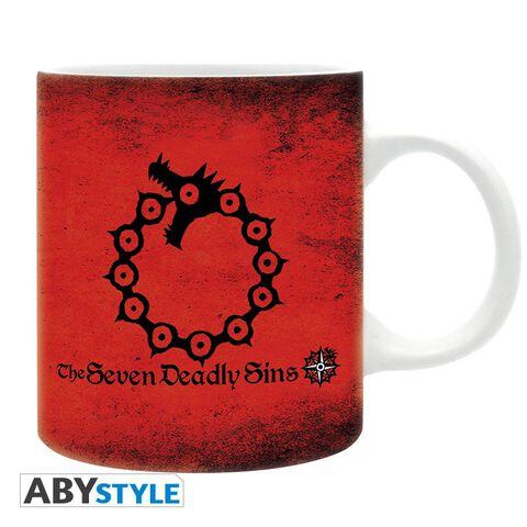 Mug - Seven Deadly Sins - Emblèmes 320 ml