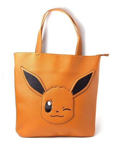 Sac à main - Pokémon - Evoli Tote Bag With All Over Printed Lining