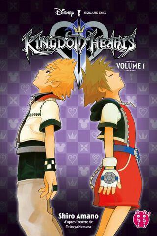 Manga - Kingdom Hearts 2 - Tome 1