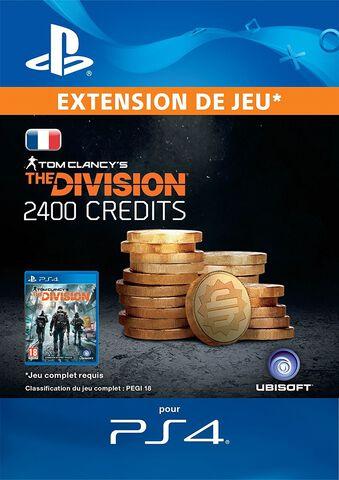 The Division - DLC - 2400 Premium Credits - Version digitale