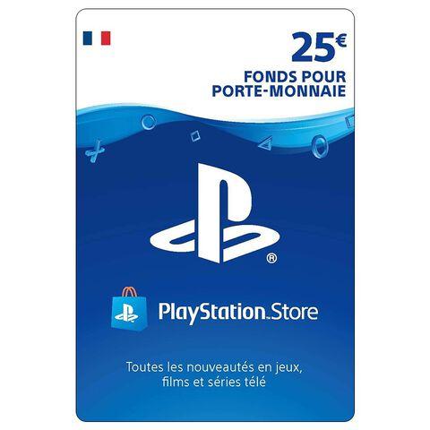 PSN Card 25 Euros PS4 - PS3 - PS Vita