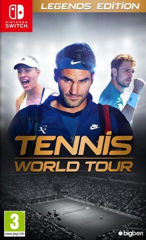 Tennis World Tour Legend Edition Exclusivité Micromania