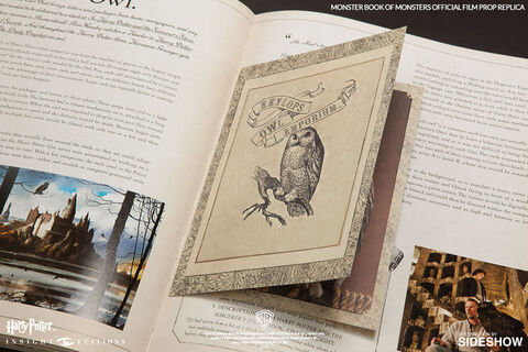 Replique Harry Potter Le Livre Des Monstres