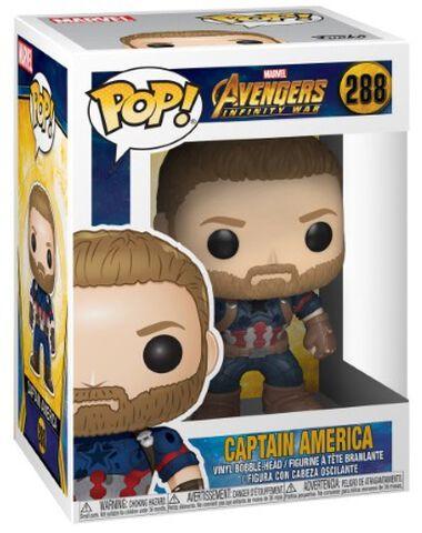 Figurine Funko Pop! N°288 - Avengers Infinity War - Captain America