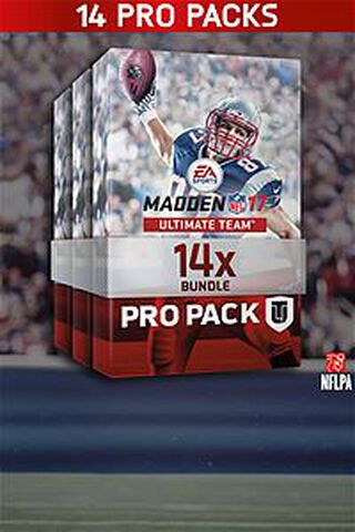 DLC - Madden NFL 17 - Offre 14 Pro Packs - Xbox One