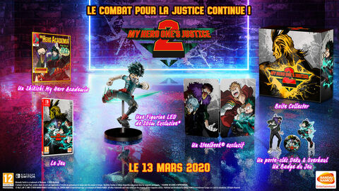My Hero One's Justice 2 Collector Edition