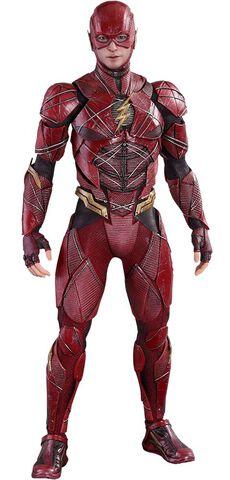 Figurine Hot Toys - Justice League Figurine Movie - The Flash 30 Cm - Masterpiec