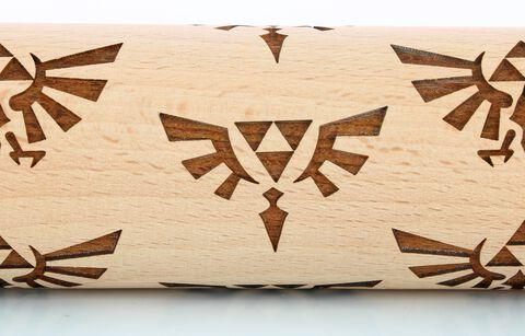 Rouleau A Patisserie - Nintendo - Zelda Triforce