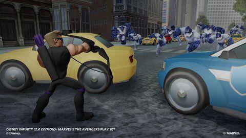 Figurine Disney Infinity 2.0 Hawkeye Marvel Super Heroes
