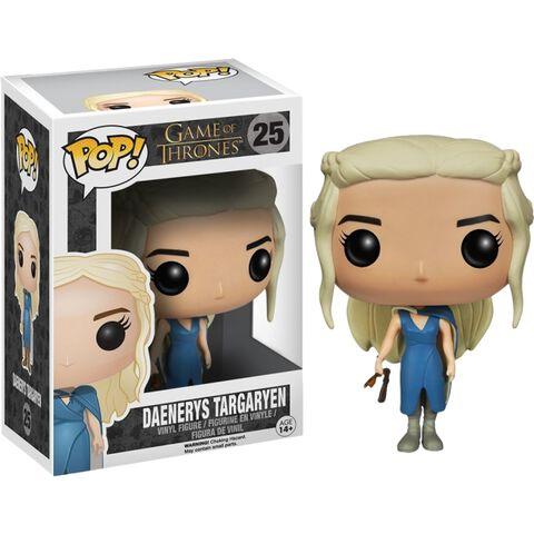 Figurine Funko Pop! N°25 - Game Of Thrones - Mhysa Daenerys Targaryen En Robe Bl