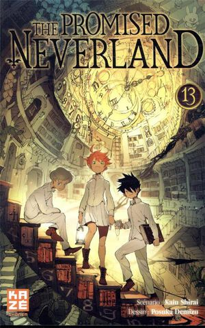 Manga - The Promised Neverland - Tome 13