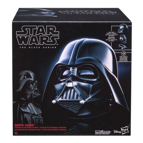 Réplique - Star Wars - Black Series Casque Electronique Dark Vador