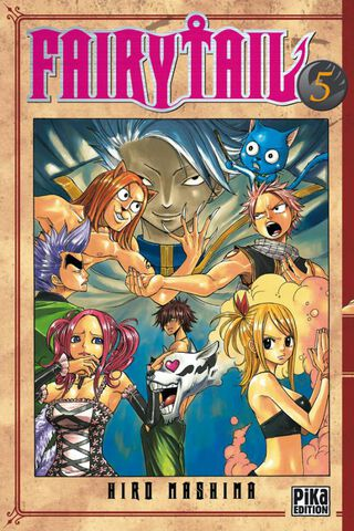 Manga - Fairy Tail - Tome 05