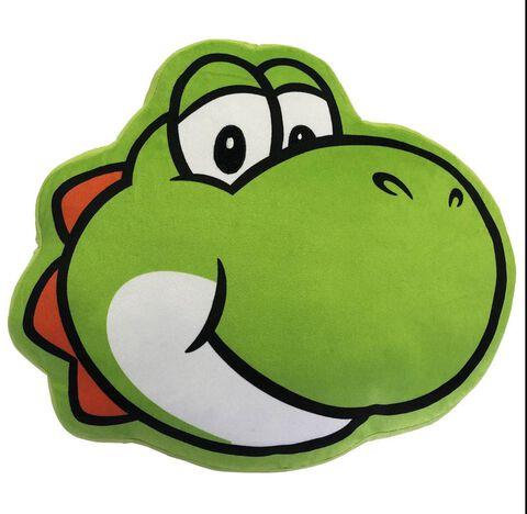 Coussin - Nintendo - Tête Yoshi