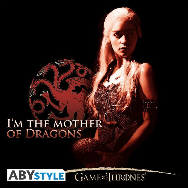 T-shirt - Game of Thrones - Mother of Dragons Femme - Taille M