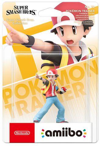 Figurine Amiibo N°74 Smash Dresseur de Pokémon