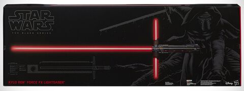 Replique - Star Wars - Sabre Laser Collector Black Series Ep VII
