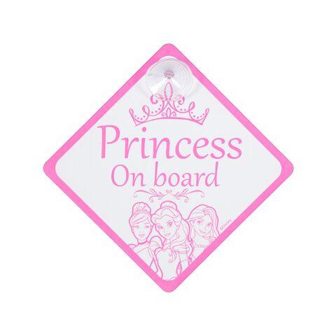 Bébé à bord - Disney - Princess On Board