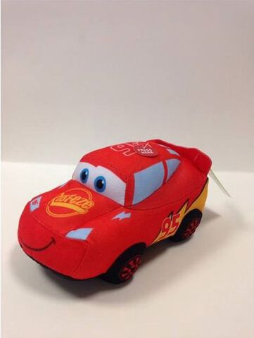 Peluche - Cars - Sonore et Lumineuse Flash McQueen 20 cm