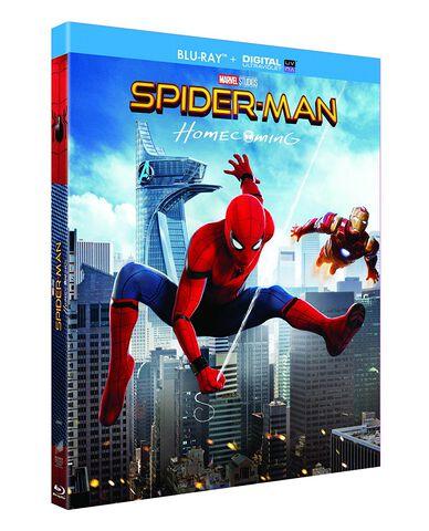 Blu-ray - Spider-Man : Homecoming
