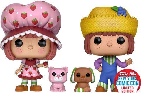 Figurine Toy Pop 2 - Strawberry Shortcake - Twin Pack SSC