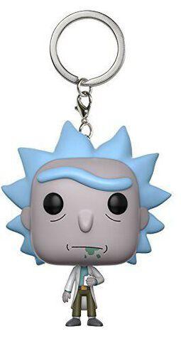 Porte-clés - Rick et Morty - Pop Rick