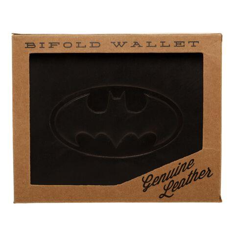 Portefeuille - Batman - Cuir Logo Noir