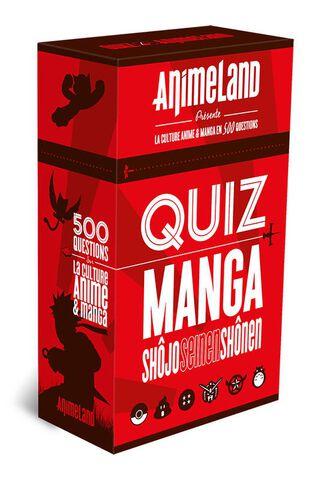 Jeu - Quiz Animeland Manga