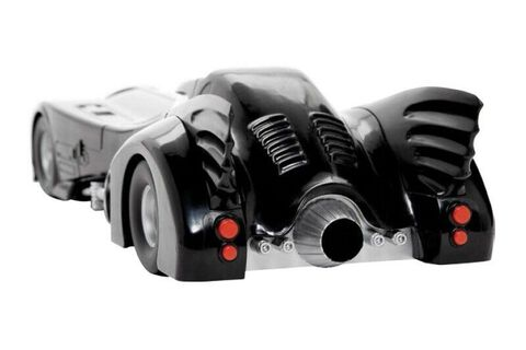 Figurine - Batman - Réplique Batmobile avec figurine Batman Mikael Keaton 30 cm