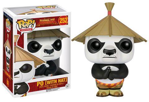 Figurine Funko Pop! N°252 - Kung Fu Panda - Po Avec Chapeau