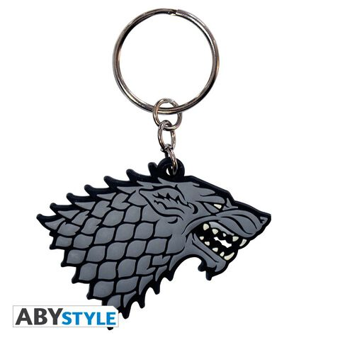 Porte-clés PVC - Game Of Thrones - Stark