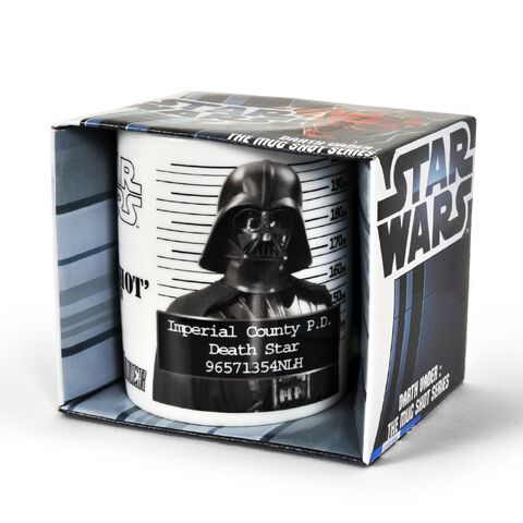 Mug - Star Wars - Dark Vador Police Record