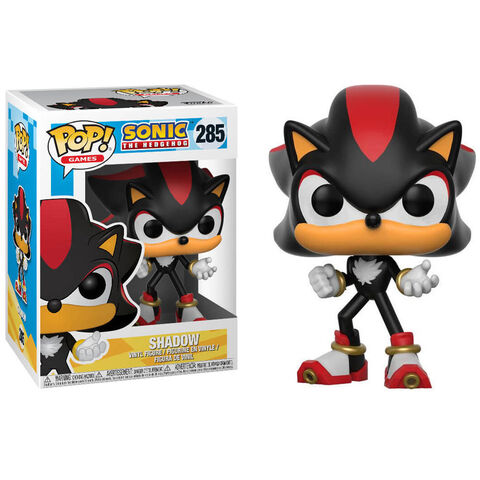 Figurine Funko Pop! N°285 - Sonic - Shadow