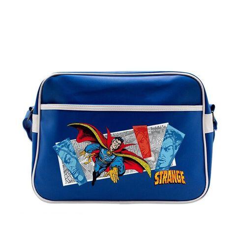 Sac Besace - Docteur Strange - Volant sur fond bleu