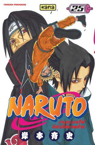 Manga - Naruto - Tome 25