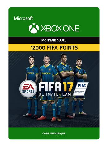 DLC - FIFA 17 Ultimate Team 12 000 Pts - Xbox One