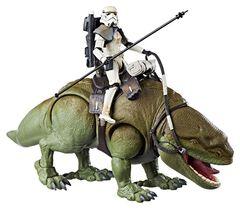 Figurine - Star Wars - Black Series Dewback Et Sandtrooper