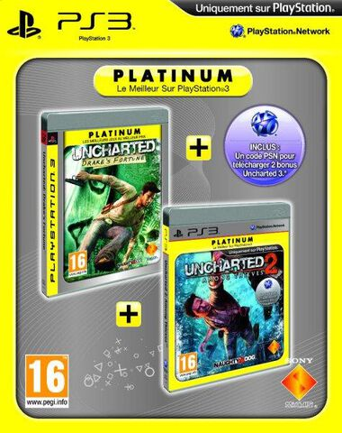 Uncharted Bundle (drake's Fortune + Among Thieves + Dlc Voucher)