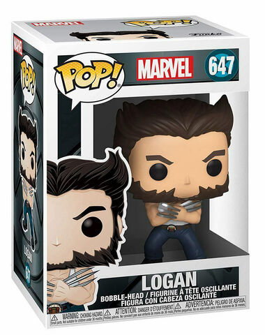 Figurine Funko Pop! N°647 - X-Men 20th - Wolverine en débardeur