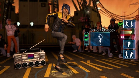 Dance Central (kinect)
