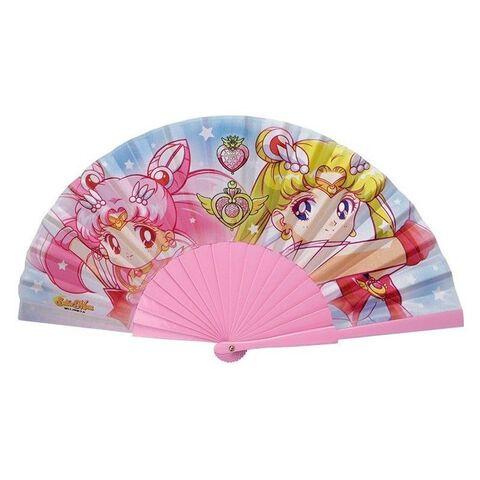 Eventail - Sailor Moon - Sailor Moon et Chibi Moon
