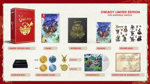 Owlboy Collector Edition